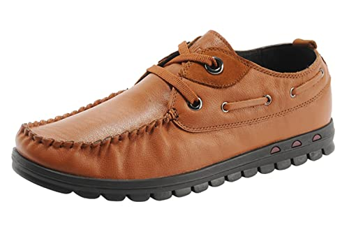 Para hippies Hombre Cordones Mr De Chalmart Zapatos Cuero 13ulKJFTc5