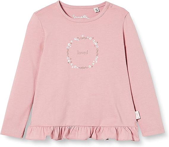 Sanetta Baby-M/ädchen Fiftyseven Dark Rose Kleinkind T-Shirt-Satz