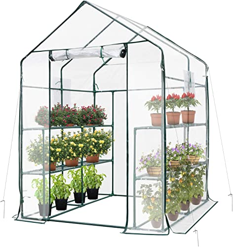 Portable Cold Frame Herbal Plant Garden Protector, Premium Cold Frame 39 Inch Casing with Ultra Sturdy Durable Aluminum Frame, The Ultimate Easy to Assemble Mini Greenhouse