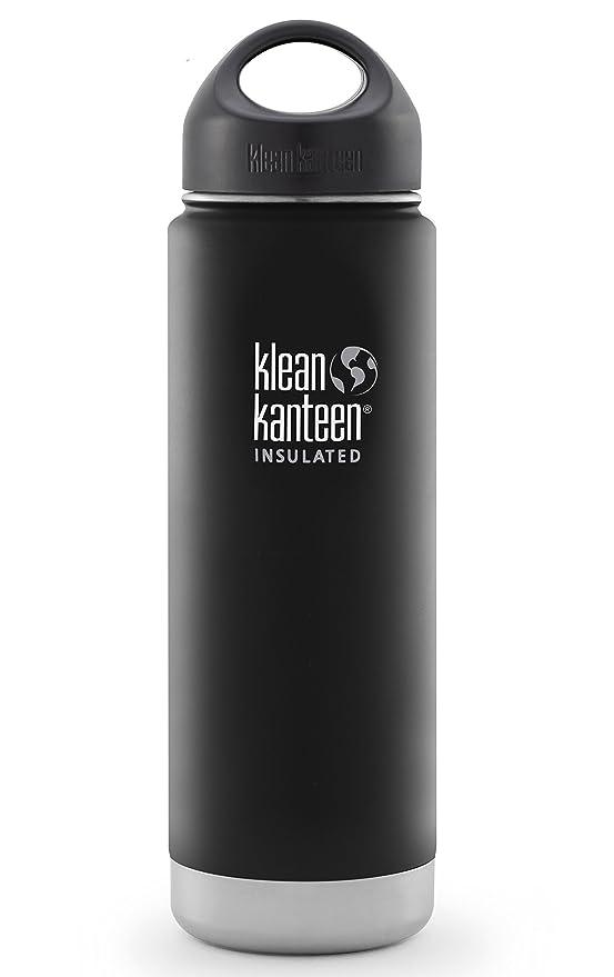 Amazon.com: Botella de acero inoxidable con cierre al ...
