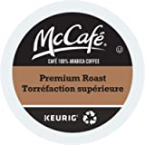 McCafe Premium Roast Medium Dark Single Serve Keurig Certified Recyclable K-Cup pods for Keurig Brewers, 48 Count