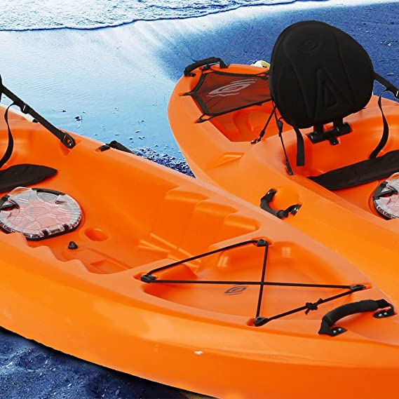 2 Pack Rubber Boat Luggage Side Mount Carry Handles Fitting for Kayak Canoe Boat