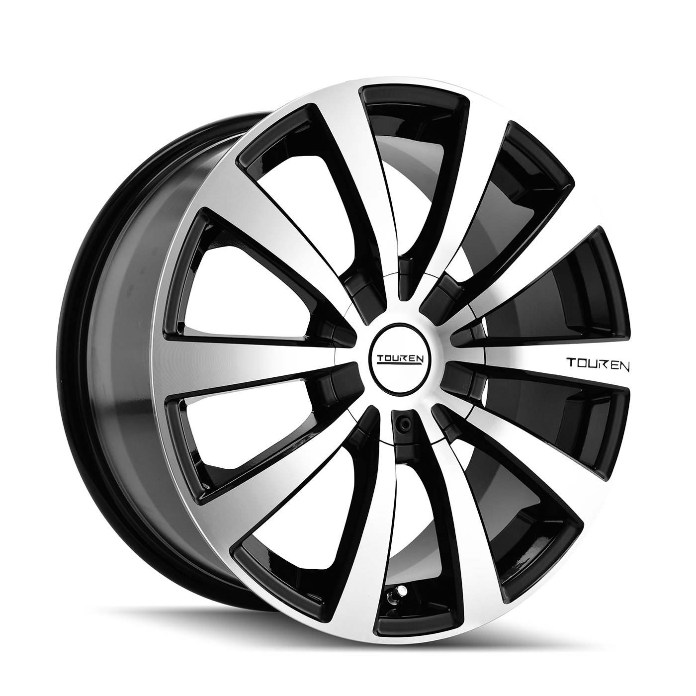 Touren TR3 3130 Black Wheel with Machined Face (16x7''/10x105mm)
