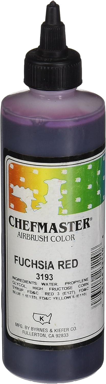 Chefmaster Airbrush Spray Food Color, 9-Ounce, Fuschia