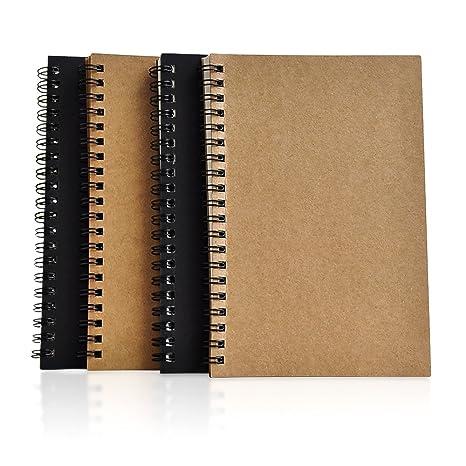 6bc47b8287 Zhi Jin quaderni a spirale formato A5con carta spessa, per disegnare,  tenere
