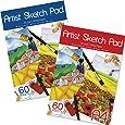 Artbox A4 Sheet Sketch Pad - Assorted (Sheet of 60)