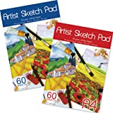 Artbox A4 Sheet Sketch Pad - Assorted (Sheet of 60)