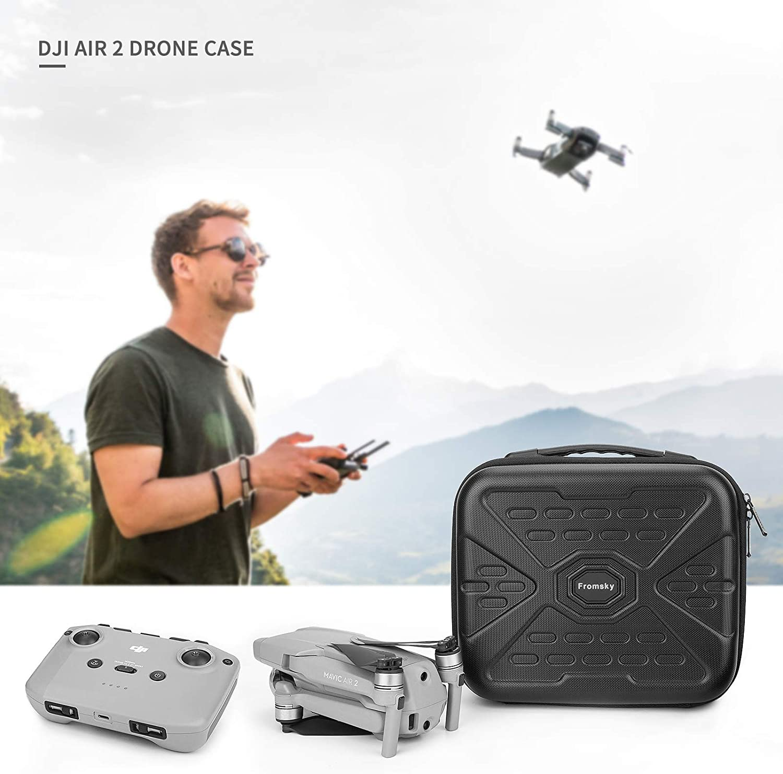 /Étui Housse pour DJI Mavic Air 2 Coque de Protection pour Sac de Voyage Portable