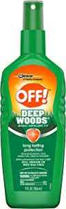 OFF! Deep Woods Insect & Mosquito Repellent VII, Long lasting protection from mosquitoes, ticks, and gnats, 25% Deet 9 oz. (Pack of 12)
