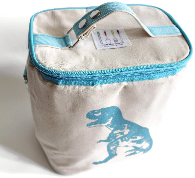 Large Baby Bottle Kids Lunch Bag 9 x 6 x 9 Girafe