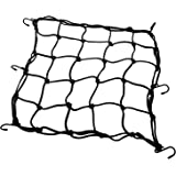 """PsmGoods heavy-duty 15 """"Cargo Net for Motorcycles, ATVs - Stretches to 30"""""""