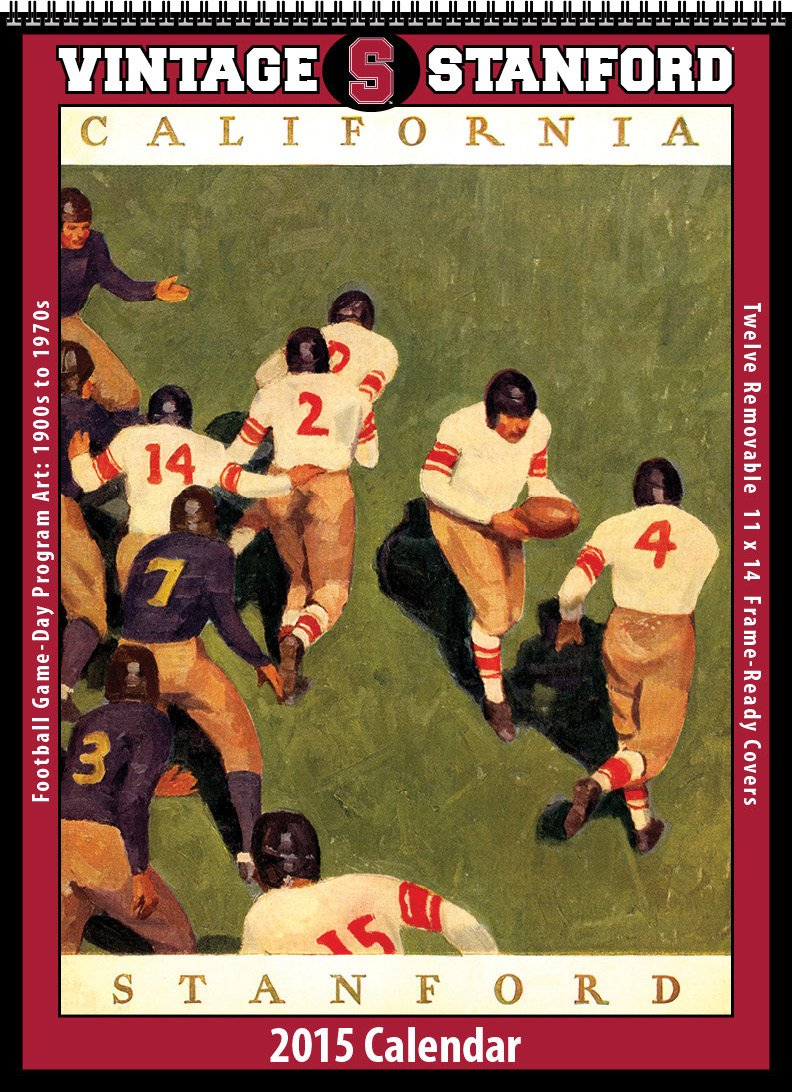 Stanford Cardinal 2015 Vintage Football Calendar by Asgard Press