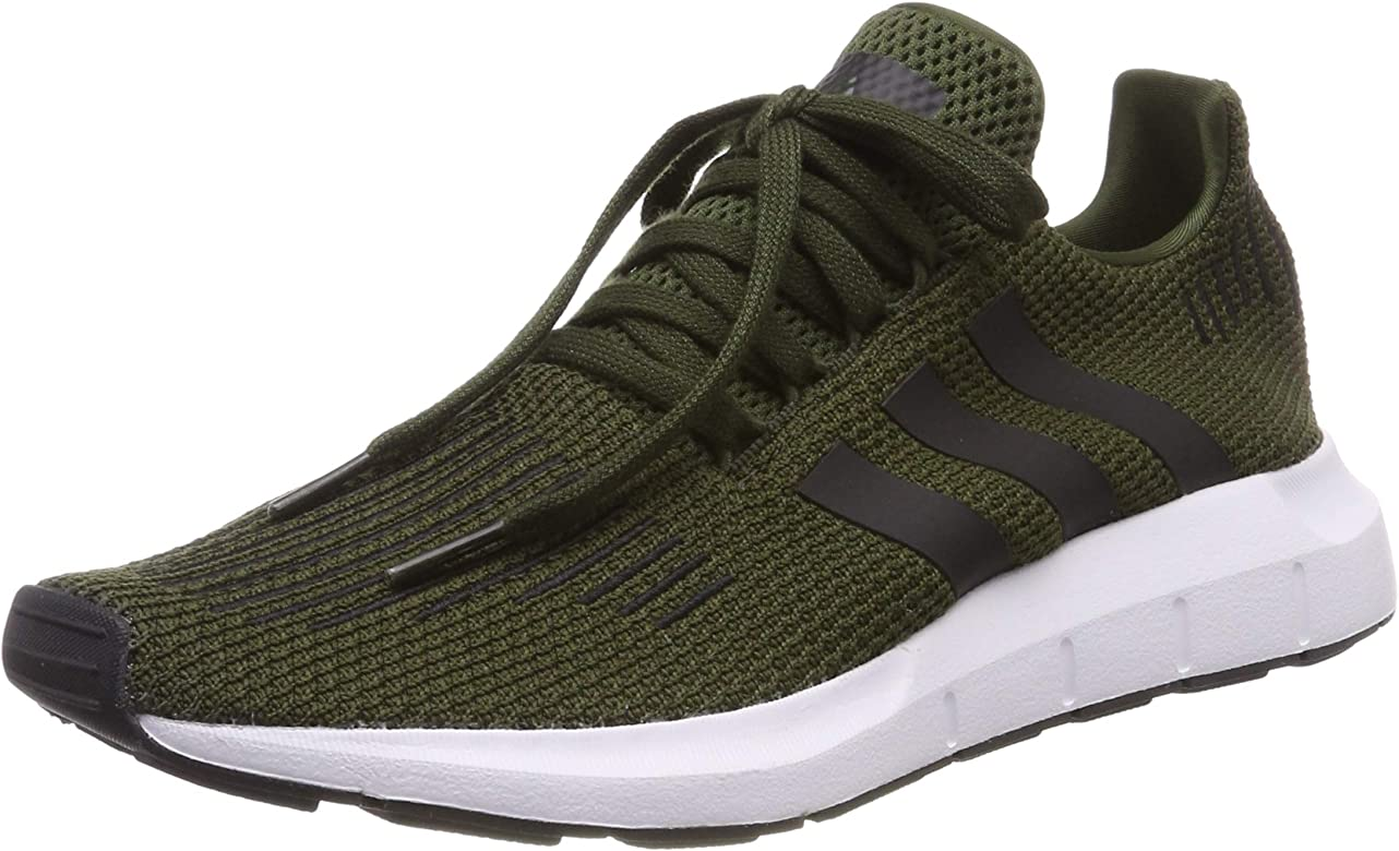 adidas Swift Run, Zapatillas de Gimnasia para Hombre, Verde Night Cargo/Core Black/FTWR White), 46 2/3 EU: Amazon.es: Zapatos y complementos