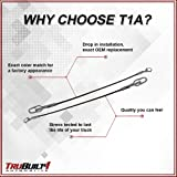 T1A Tailgate Support Cables Replacement for