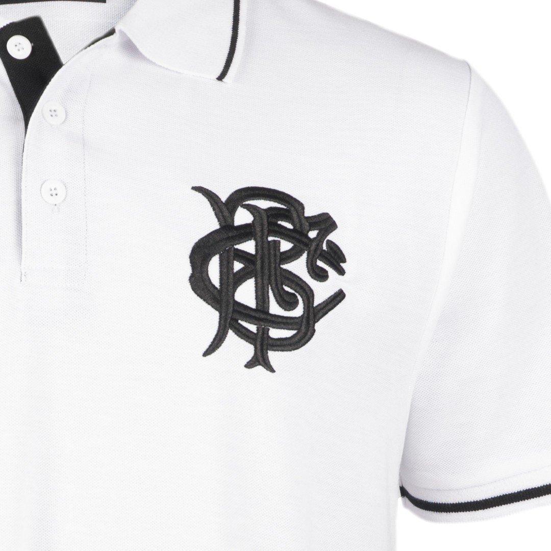 Barbarians Rugby Pique Polo Shirt 2016 - White: Amazon.es ...
