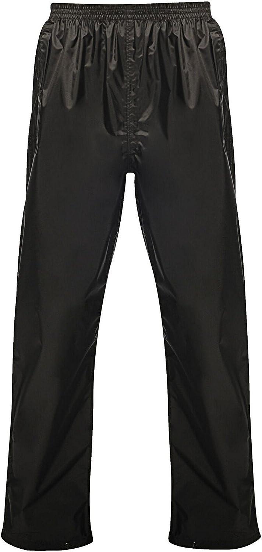 Regatta Pro Mens Packaway Waterproof Breathable Overtrousers