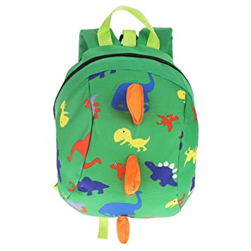 Cartoon Dinosaur Baby Safety Harness Backpack Toddler Anti-lost Bag Schoolbag