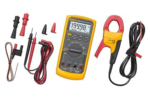 Fluke 87V IMSK Industrial Digital Multimeter with Fluke i400 Clamp Meter Combo Kit