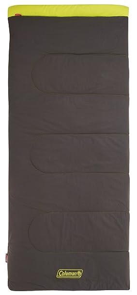 Coleman Saco de Dormir Heaton Peak - Saco de Dormir Rectangular - Comfort 220 Amarillo/