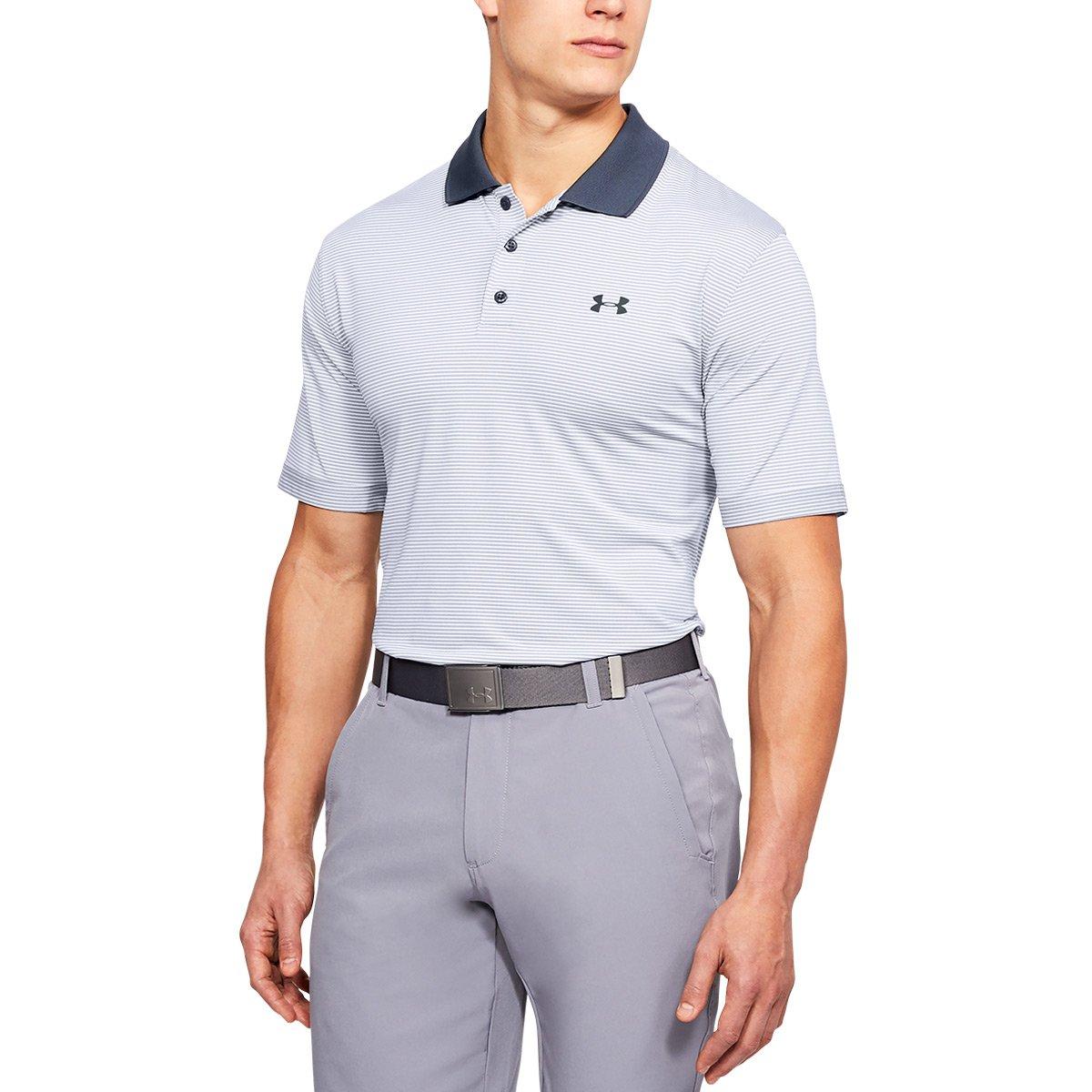 [アンダーアーマー] UA Performance Polo Novelty メンズ 1321344 B071F9KZH4 XXX-Large|White (100)/Stealth Gray White (100)/Stealth Gray XXX-Large