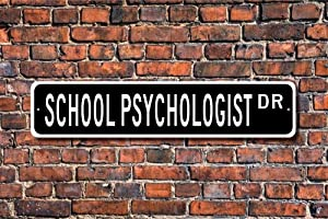 VinMea Funny Metal Sign Sign, School Employee, Advisor, Aluminum Sign Wall Art Decor Metal Sign,Public Sign,Decoration Sign 4x18 Inches