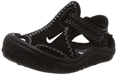 NIKE Unisex Baby Sunray Protect (TD) Sneaker, Negro Blanco   Gris ... 52eae5dfae