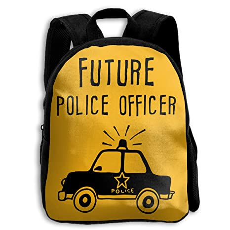 13950752bd92 Amazon.com  AHOOCUSTOM Future Police Officer 3D Print Custom Unique Casual Backpack  Schoolbag Shoulder Bag for Boys Teen Girls Kids  Sports   Outdoors
