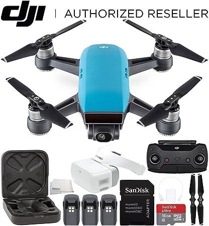 DJI Spark portátil Mini Drone Quadcopter + DJI gafas de realidad ...