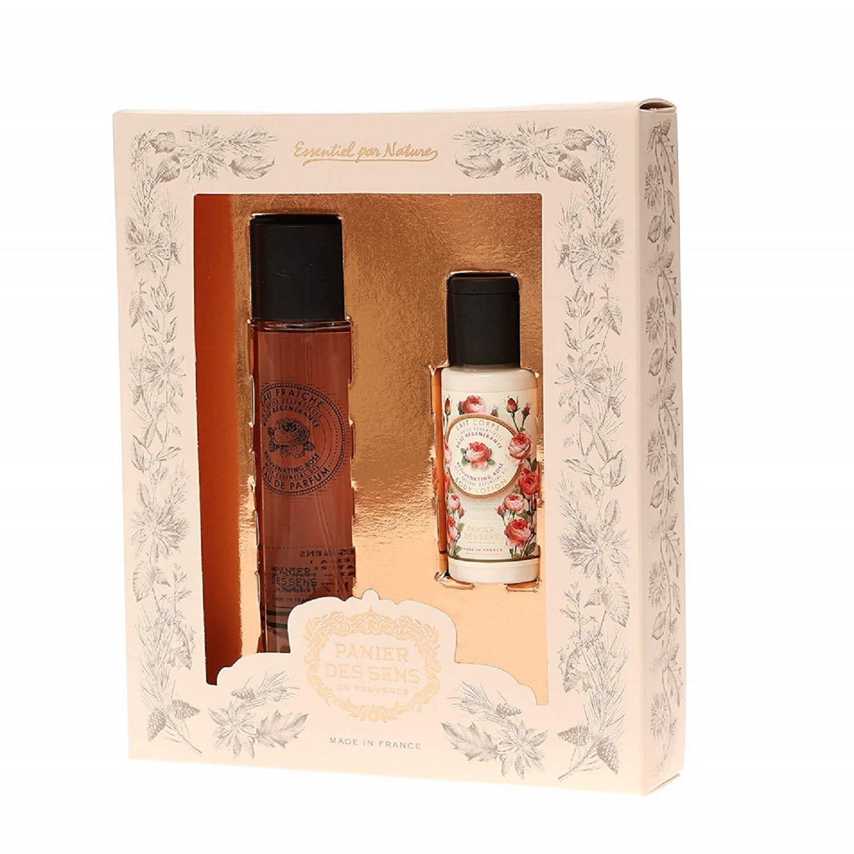 Panier Des Sens Eau de Parfum, Rose (with Body Lotion gift)