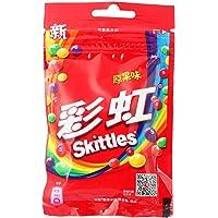 Skittles彩虹糖 原味 拉链袋装45g