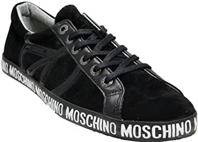 bd9cce38d Image Unavailable. Image not available for. Colour: Moschino Men Trainer ...