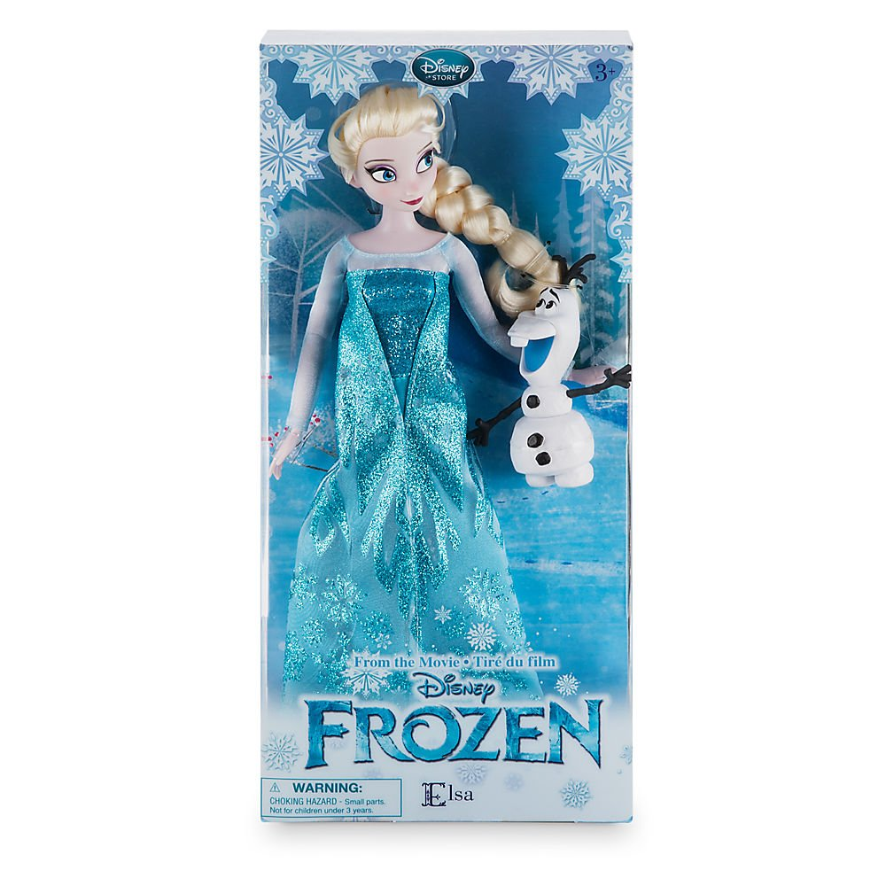 Amazon New In Box Disney Store Frozen 12 Inches Elsa Classic Doll With Olaf 2016 Packaging Toys Games