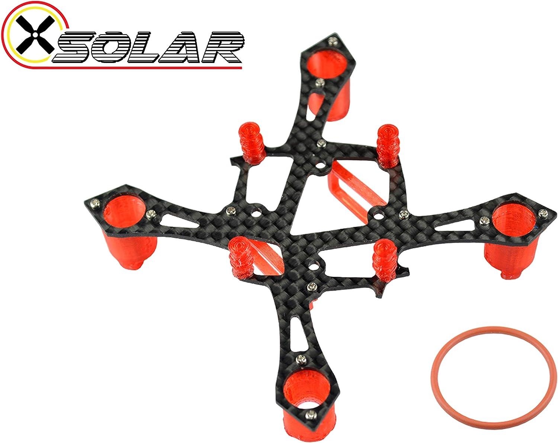 Microheli Osolar 75 Quad Tiny Frame for Brushless Motor 0603 0703 0803 1103 Prop 40mm