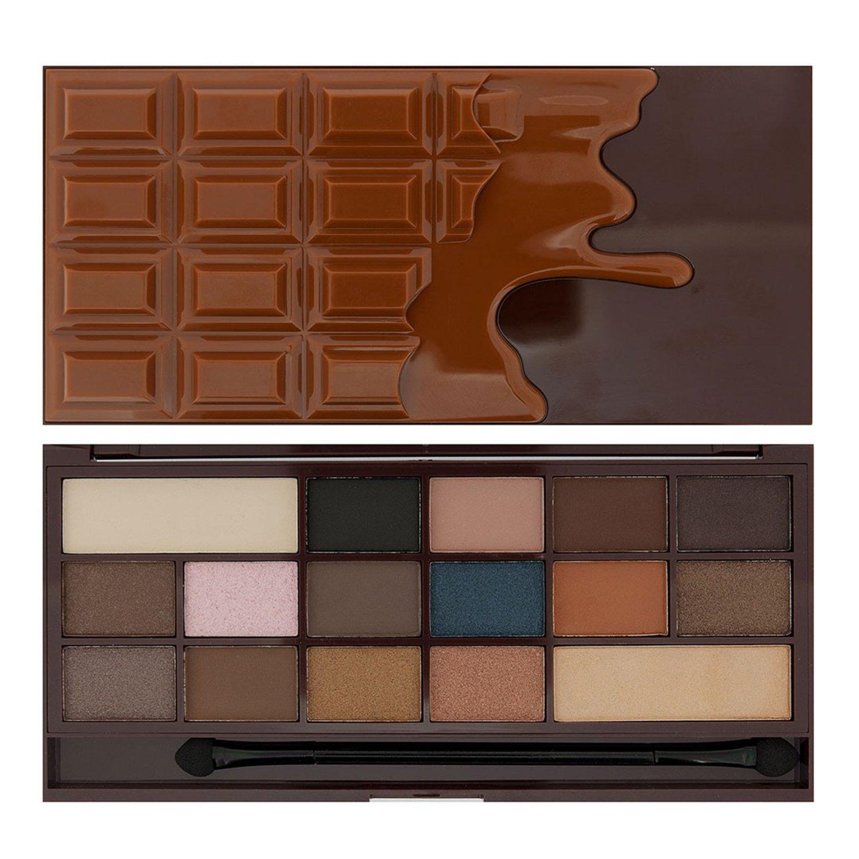 Amazon.com: Makeup Revolution I ♥ Makeup I Heart Chocolate Eye ...