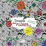 capa de Terapia das Flores - Livro de Colorir Antiestresse