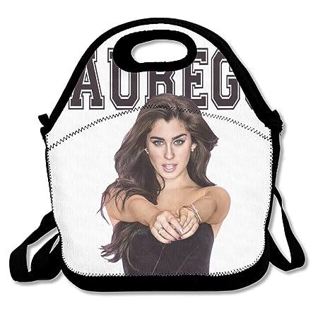 Annda Lauren Jauregui Neoprene Lunch Bag With Shoulder Strap