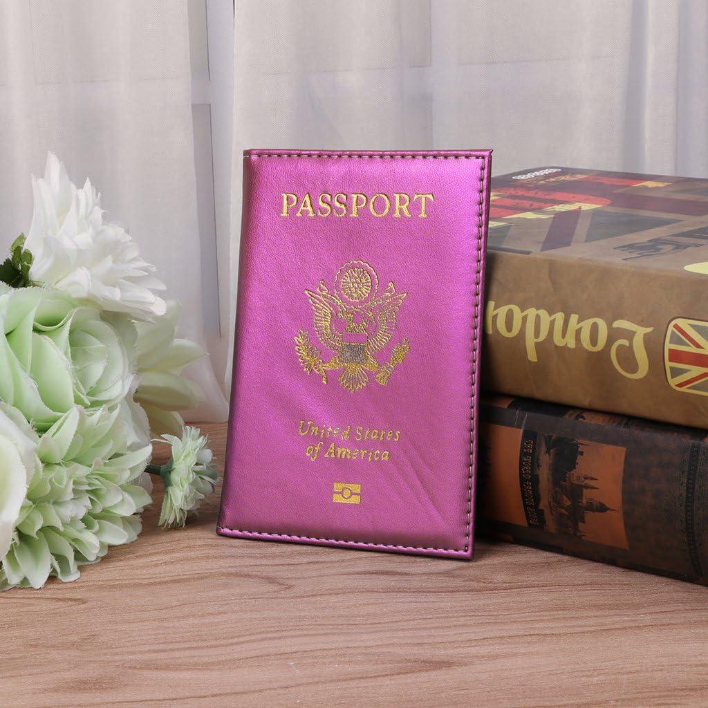 Jiamins Prot/ège-passeport Rose Rot 5.51x3.94