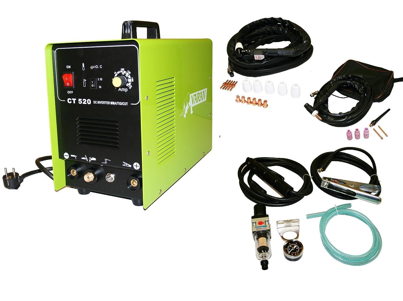 Varan Motors var-ct520 - 3 estación de soldadura y tagliatrice 3 en 1 TIG MMA, y Plasma Varan CT520 Inverter + accesorios: Amazon.es: Bricolaje y ...