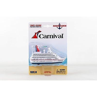 Daron Carnival Cruise Ship Pullback: Toys & Games