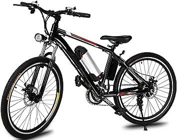 Befied Bicicleta Eléctrica de Montaña 26 inch Bicicleta carretera ...