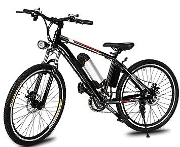 Befied Bicicleta Eléctrica de Montaña 26 inch Bicicleta carretera Mountain Bike con Bateria Litio 36 V