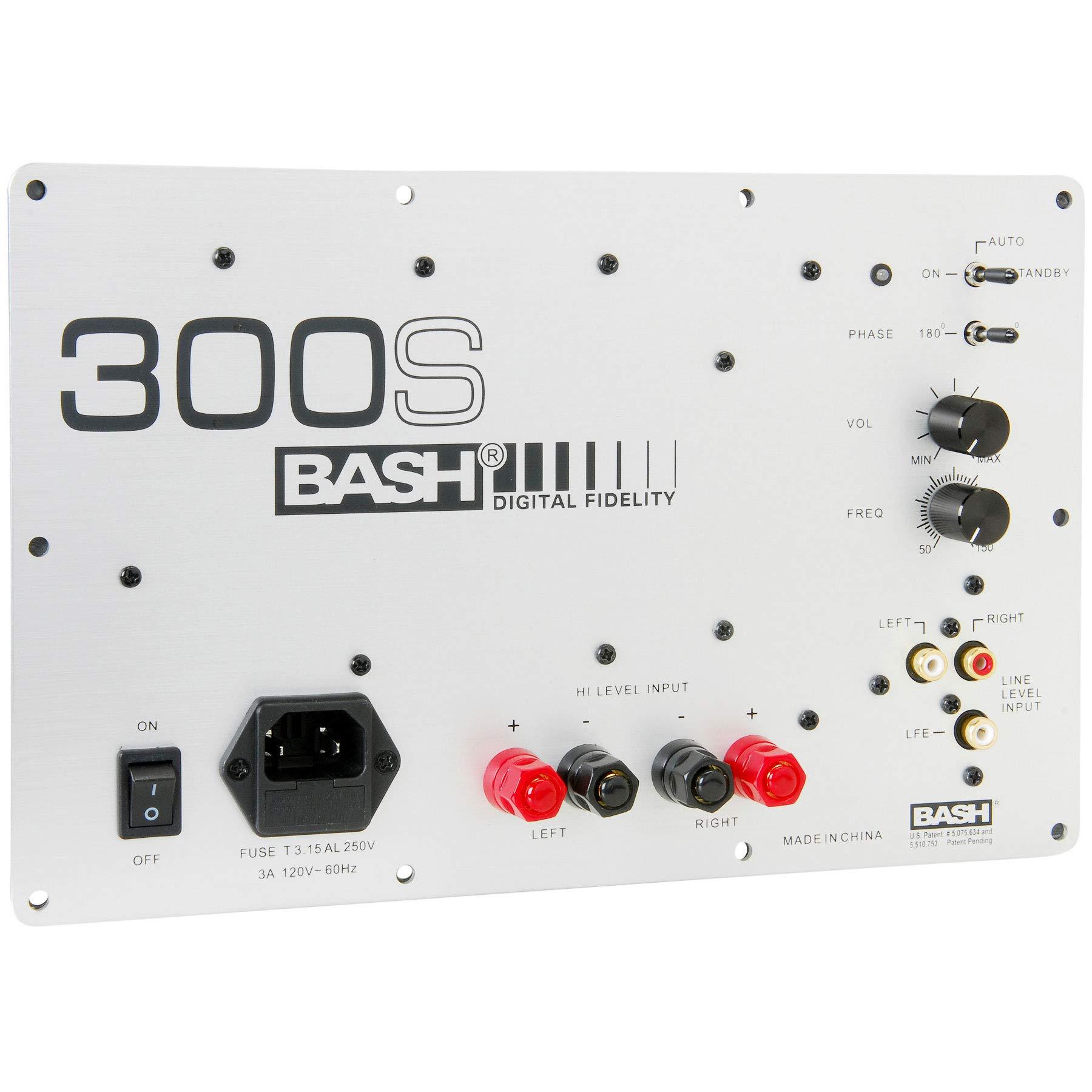 amazon com bash 300w digital subwoofer amplifier electronics