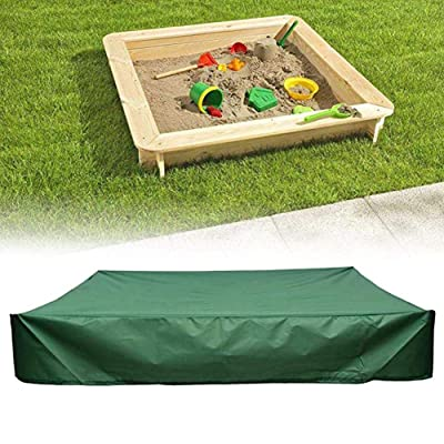 Funarrow Green Sandbox Covers with Drawstring Multi-Purpose Waterproof Poly Tarp Cover Cover Pool Cover 95 UV Protection Dustproof, Avoid The Sand and Toys Contamination: Musical Instruments