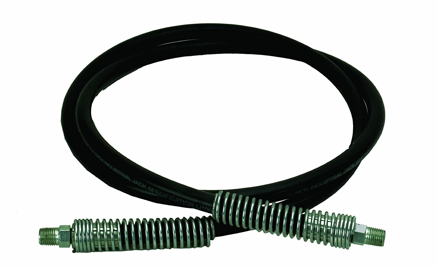 BVA Hydraulics CS1414 6' Hose, 1/4' Internal Diameter, 1/4'-18 NPTF 1/4 Internal Diameter 1/4-18 NPTF