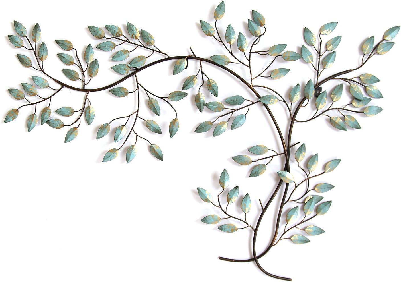 Stratton Home Decor Patina Tree Branch Wall Decor, 39.00 W X 0.51 D x 27.56 H