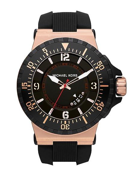 Michael Kors Reloj Análogo clásico para Hombre de Cuarzo con Correa en Acero Inoxidable MK7062: Amazon.es: Relojes