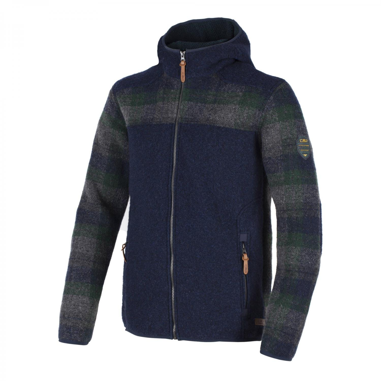 CMP Herren Jacke Fix Hood Jacket 3M30767 B.Blue Melange 46