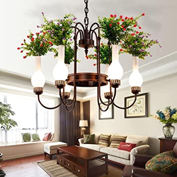 Lampadari Country Fai Da Te.Gbt Country House Flower Hotel Cafe Luce Luci A Led Luce Calda