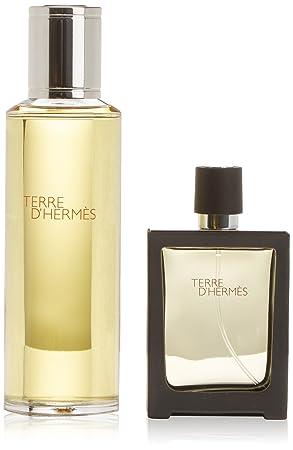Hermes Terre EDP Vaporisateur Rechargeable 30 ml + Recharge 125 ml pour lui 18adea1be85