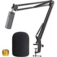Razer Seiren X Boom Arm with Pop Filter - Mic Stand with Foam Cover Windscreen for Razer Seiren X Streaming Mic by…